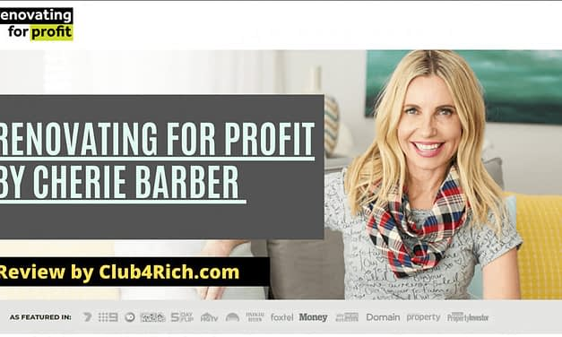 Renovating for Profit by Cherie Barber Review