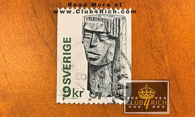 Sweden Bror Hjorth 9kr Stamp