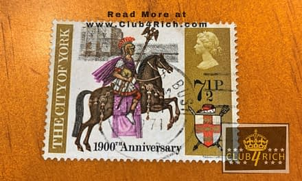 1971 UK 1,900th Anniversary of the City of York Stamp