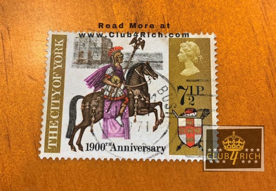 1971 UK 1,900th Anniversary of the City of York Stamp